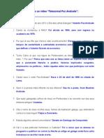 Respostas Video Telexornal Paz Andrade