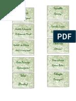 Etiquetas Ervas aromaticas
