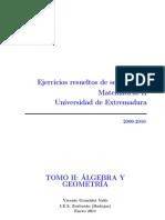 Selectividad Extremadura CCNN Tomo 2 2000 2010