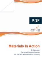 IOM3 Materials Presentation