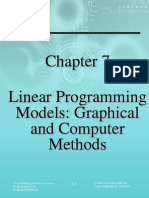 Chapter 7 - Linear Programming Model