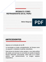 Amoniaco Como Refrigerante en Peru