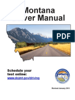 Montana Drivers Manual | Montana Drivers Handbook