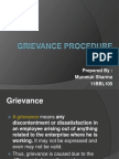 49785540 Grievance Procedure Ppt