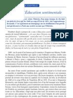 Flaubert L Education Sentiment Ale