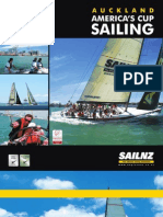 Auckland Americas Cup Sailing