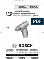 Bosch Drill Driver PS-20