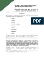Protocolo Proyecto Final
