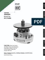 Craftsman Oscillating Sander 351.215000