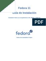Fedora 11 Installation Guide Es ES