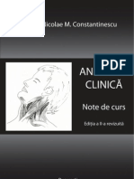 Anatomie Clinica - Prof. Dr. N. Constantinescu