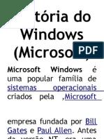 História do Windows