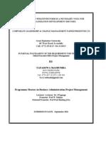 Corporate Leadership & Change Management (2)