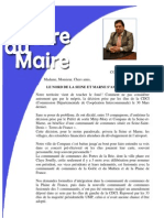 Mot Du Maire 05 04 2012