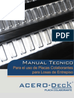 Manual Acero Deck (Metal Deck)