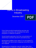 game in broadcasting industry - rino bernando