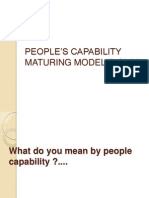 PEOPLE'S CAPABILITY MATURING MODEL(P-CMM)