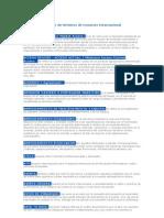 Glosario de términos de Comercio Internacional (1)