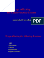 Drugs Affecting Cardiovascular System