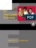 New Leader Essentials PPT