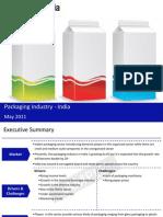 Packaging Industry in India 2011 Sample 110520080226 Phpapp01