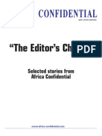 Africa Confidential Editors Choice