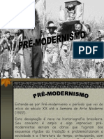 PRÉ-MODERNISMO-introdução