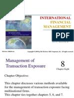 8 Management of Transaction Exposure
