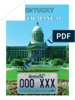Kentucky Drivers Manual | Kentucky Drivers Handbook