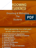 Grooming Students