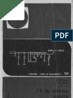 73 de Scheme Pentru Radioamatori Vol I