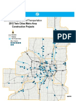 2012 Twin Cities Metro Area Construction Projects