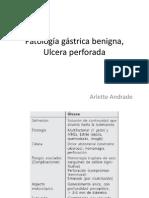 Patología gástrica benigna, Ulcera perforada
