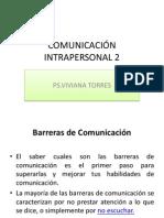 COMUNICACIÓN INTRAPERSONAL 2