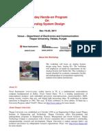 Texas-TU Workshop on Analog System Design