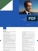 Programme de Nicolas Sarkozy