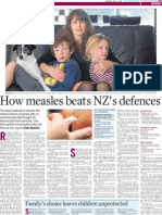 How measles beats NZ's defences