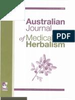 Sample Australian Journal of Herbal Medicine v21no1 March 2009
