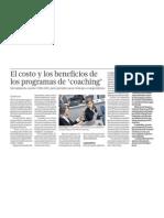 El costo y el beneficio de los programas de Coaching