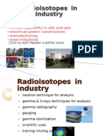 Radioisotopes in Industry