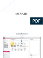 Ms Access Exc 1