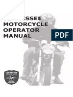 Tennessee Motorcycle Manual | Tennessee Motorcycle Handbook