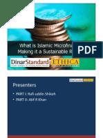 What is Islamic Micro Finance