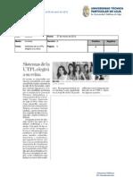 Informe de prensa el 30 de marzo al 05 de abril de 2012