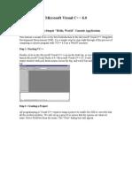 Microsoft Visual C(Part2)