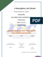 MEMORIA DE CALCULO