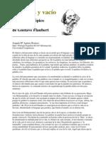Aguirre Romero - Palabras Y Vacio Lenguaje Y Topico en La Obra de Flaubert