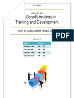 Cost Benefit Analysis in T & D