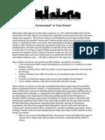 Turnaround Report 4.5.12