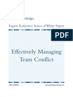 Conflict Organizational